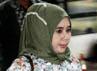 Syarifah Damiati Aida akan diperiksa terkait dugaan penerimaan hadiah dalam pembangunan Venue PON Riau tahun lalu. Lamhot Aritonang/detikFoto.