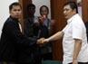 Freddy menjalani sidang vonis di Pengadilan Negeri Jakarta Barat.
