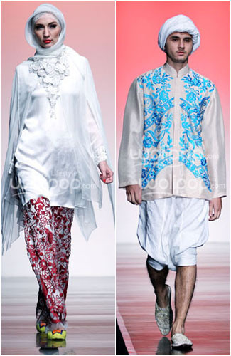Hijab Style Guide Baju Muslim Putih Untuk Lebaran Dari