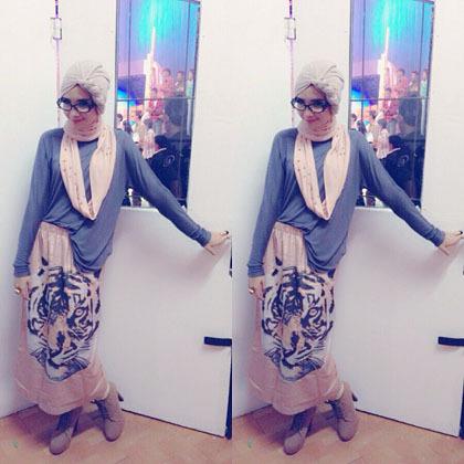 Hijab Style Gaya Hijab Stylish Ala Zaskia Sungkar 7