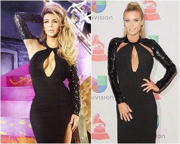 Kim Kardashian & Carmen Electra Pakai Baju Sama, Siapa Lebih Seksi?