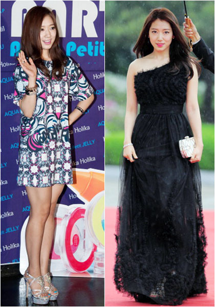 Gaya Girlie Sampai Edgy Park Shin Hye Aktris Utama Serial The Heirs
