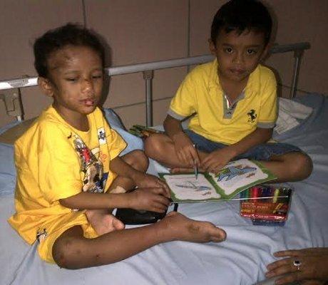 Bongkar Celengan, Bocah SD di Pekanbaru ini Tempuh 60 Km Temui Adit