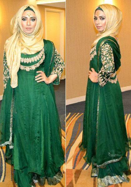 Hijab Style: Cantik dengan Pashmina Ala Saman Munir