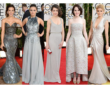 Tren Golden Globes Awards 2014, Gaun Merah dan Anting Besar