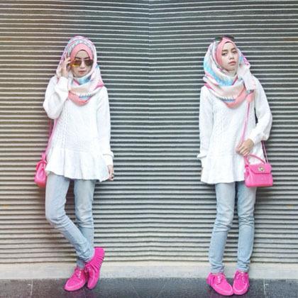 Hijab Style Joyagh Selebriti Instagram Dengan Followers