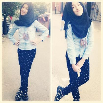 Hijab Style Gaya Stylish Shireeenz Remaja Yang Populer Di Instagram 5