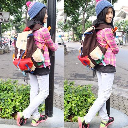 Hijab Style Gaya Stylish Shireeenz Remaja Yang Populer Di Instagram 6