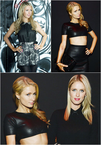 Foto: Paris Hilton Pamer Tubuh Seksi di New York Fashion Week 1
