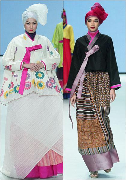 Hijab Style Cantik Dengan Hanbok Khas Korea Di Koleksi Terbaru Iva Lativah