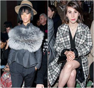 Foto: 8 Penampilan Selebriti Stylish di Front Row Paris Fashion Week