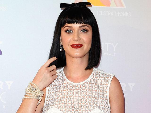 Senyum Sumringah Katy Perry di Australia