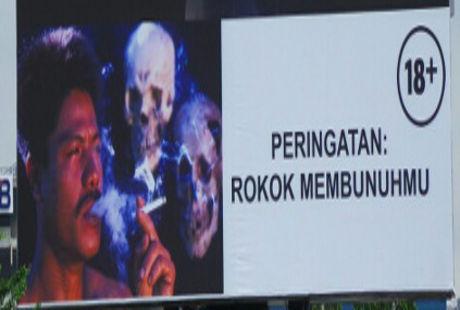 Gambar Peringatan Bahaya Merokok Malah Dinilai Mempromosikan