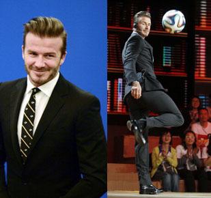Foto: Tampannya David Beckham Saat Kunjungan ke China