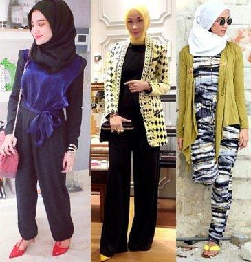 Style Hijab Dengan Jumpsuit