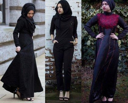 Hijab Style Hitam