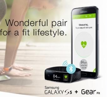 GALAXY S5 dan Samsung Wearable Devices untuk Penggemar olahraga dan gadget