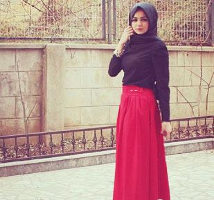 Hijab Style Padu Padan Rok Panjang Ala Hijabers Cantik