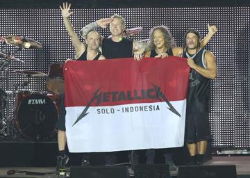 ...Dan Metallica Kembali Untuk Indonesia! #1TahunMetallicaJKT