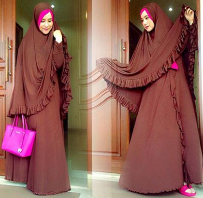 Hijab Style Tampil Stylish Dengan Gaya Hijab Syar 39 I Ala Nada Rivany 2