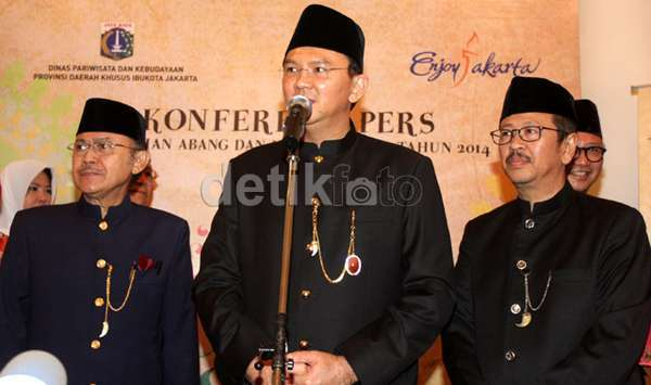 Tak Ada Jokowi Ahok Buka Acara Pemilihan Abang None Jakarta Di Monas