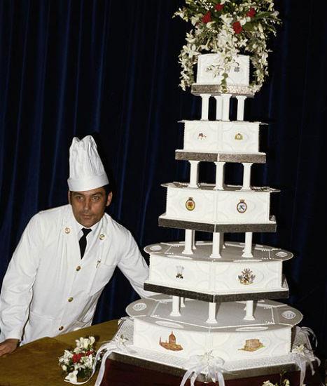 Potongan Kue Pernikahan Pangeran Charles & Putri Diana