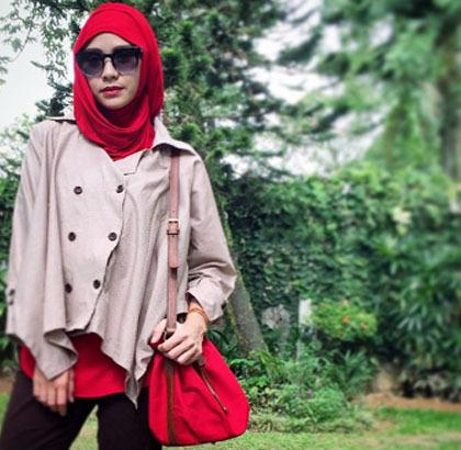 Foto Style Zaskia Mecca 7 Hijabers Lain Saat Rayakan Hijab Solidarity Day 2