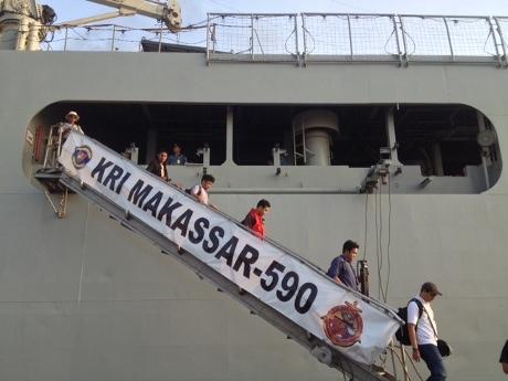 Menengok Megahnya Isi Kapal Perang KRI Makassar
