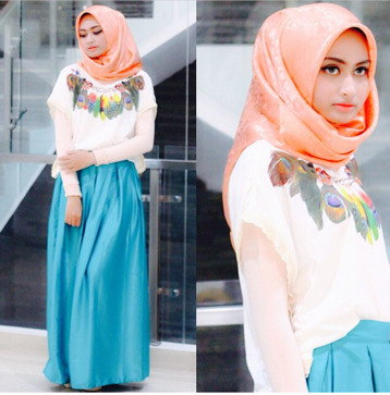 Hijab Style Tips Padu Padan Atasan Lengan Pendek Panjang Ala
