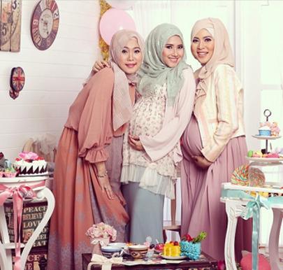 Hijab Style Tips Berbusana Untuk Hijabers Yang Sedang Hamil
