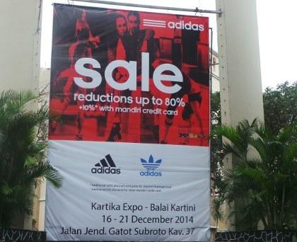 adidas sale jakarta 2015