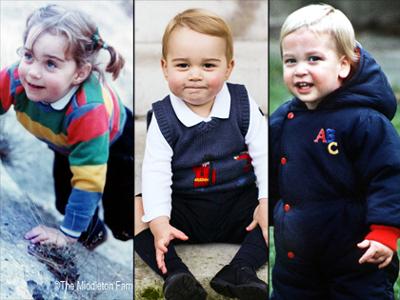 Pangeran George Lebih Mirip William atau Kate Middleton?