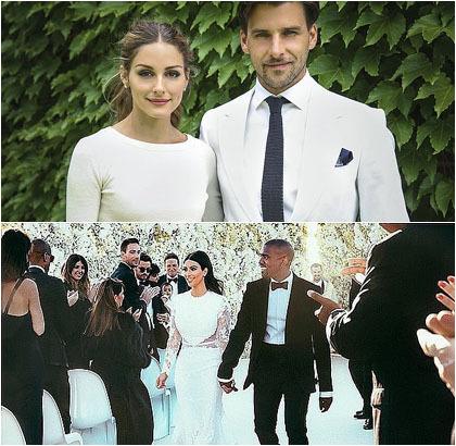 Gaun Pernikahan Cantik Para Selebriti yang Menarik Perhatian Tahun Ini 1