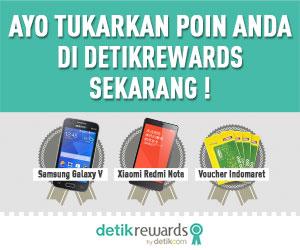 Kini Poin Anda Bisa Ditukar Dengan Hadiah di detikRewards.com