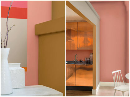 Palet Hangat Oranye Dan Tembaga Tren Warna Untuk Interior
