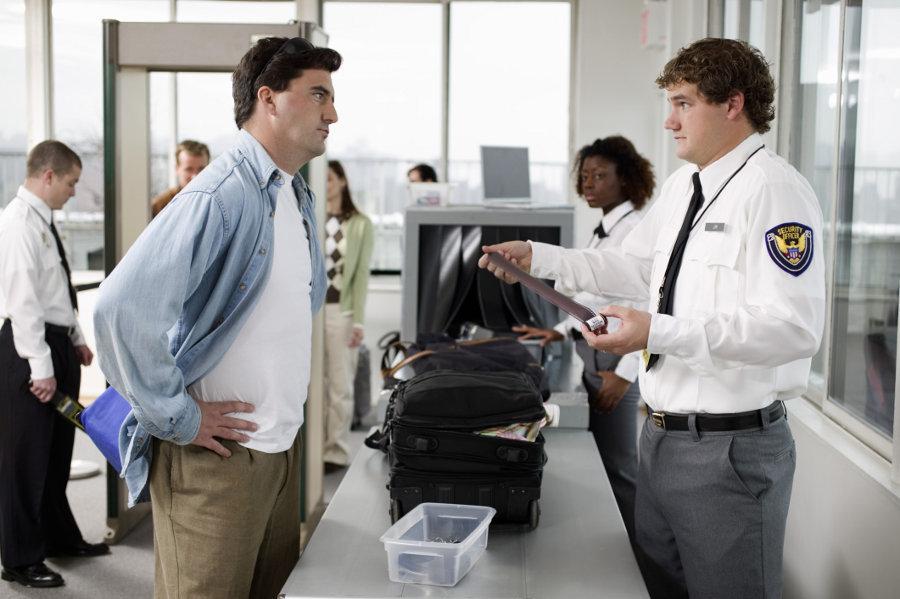 Последовательность действий в аэропорту - Проверка
