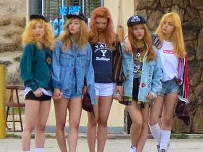 Dulu Ombre, Red Velvet Siap <i>Comeback</i> dengan Rambut Blonde