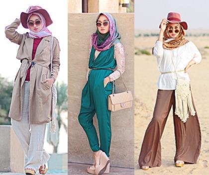 Hijab Style Gaya Stylish Dian Pelangi Saat Rayakan Ultah Di Dubai