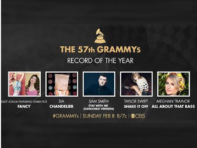 Pertaruhan Lagu Terbaik di Record of the Year Grammy 2015