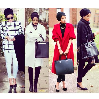 Hijab Style Padu Padan Turban Yang Modis Dan Simpel Ala Sagaleeya