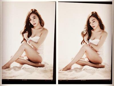 Pose Seksi Tiffany SNSD Ini Bukan untuk Majalah Dewasa