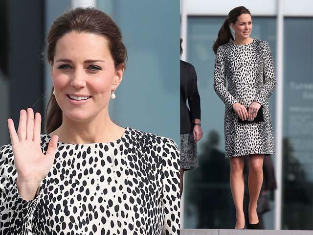 Perut Hamil 8 Bulan Kate Middleton