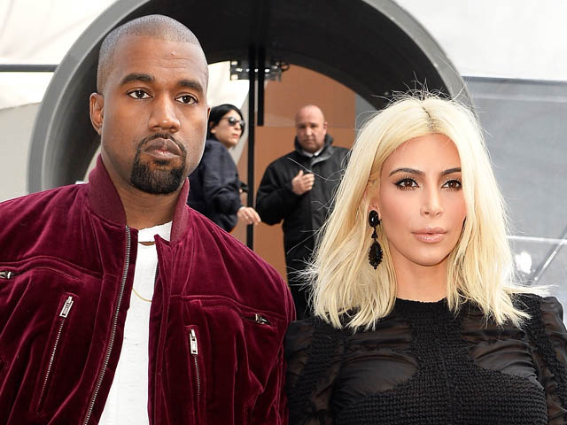 Gaya Kim Kardashian dan Kanye West di Paris Fashion Week