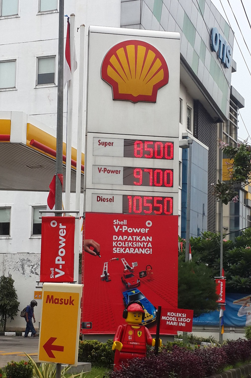 Harga Bensin Shell Naik Rp 150 Liter