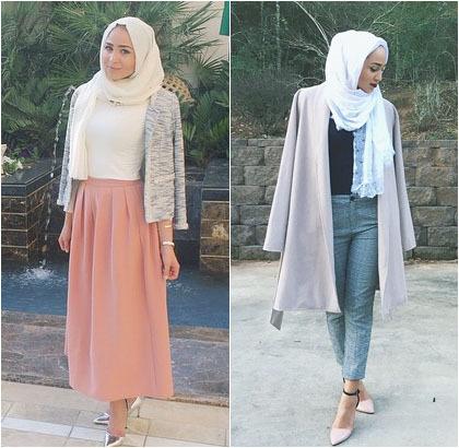 Hijab Style Cantik Stylish Fashion Blogger Asal Dubai Maria Alia
