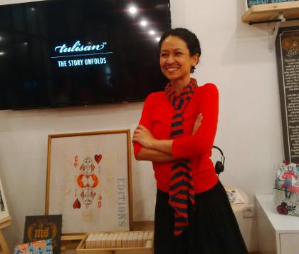 Melissa Sunjaya Pendiri Brand Lokal Tulisan Yang Ramah