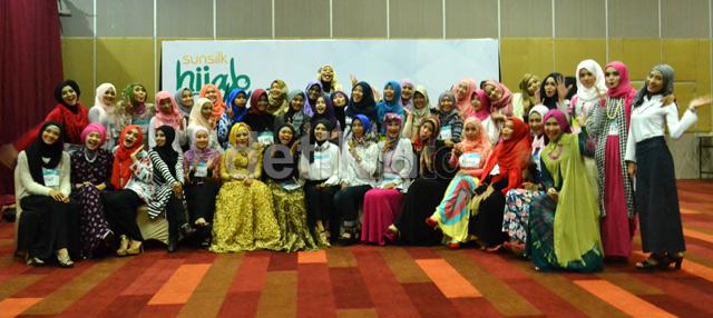 Ini dia peserta Sunsilk Hijab Hunt 2015 yang lolos ke 50 besar dari audisi di kota Surabaya.