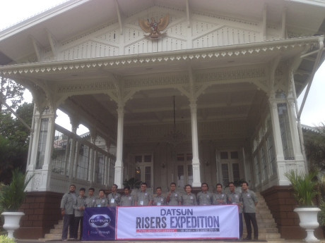 Tiba di Cipanas, Risers Berwisata di Istana Kepresidenan