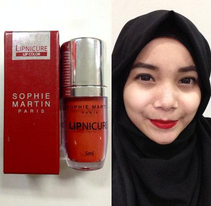 Lipstik Bertekstur Cair dengan Aroma Permen Karet dari Sophie Paris