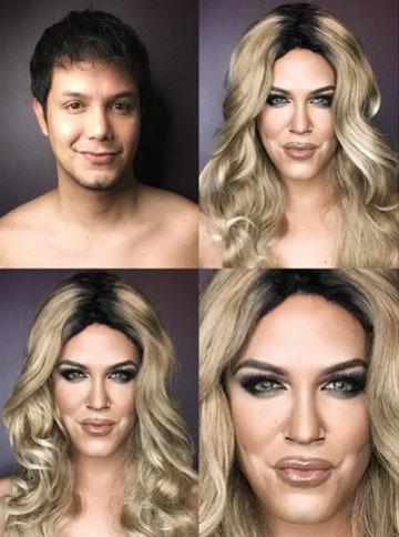 Paolo, Pria yang Jago Make-up ala Kim Kardashian Hingga Caitlyn Jenner 1